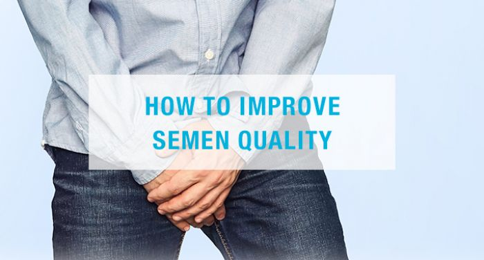 How to improve semen quality