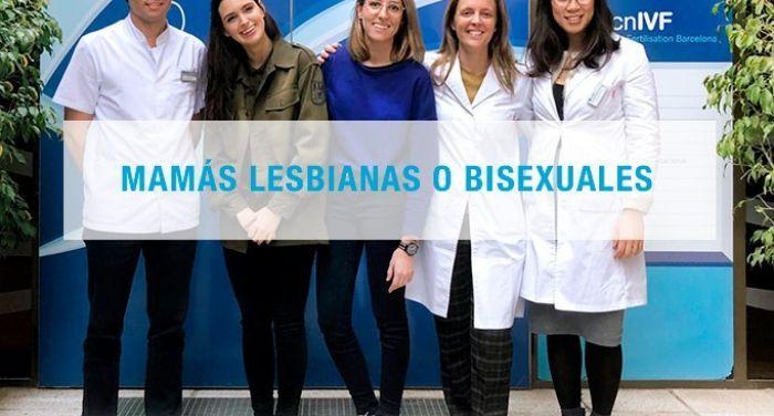 Mamás lesbianas o bisexuales