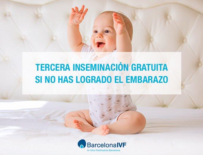 Inseminación artificial en Barcelona IVF: un intento gratis