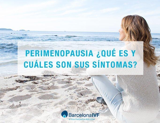 Perimenopausia ¿qué es y cuáles son sus síntomas?