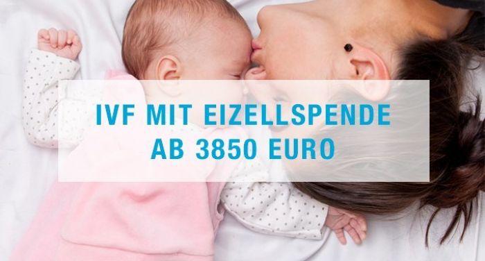 IVF mit Eizellspende ab 3850 Euro