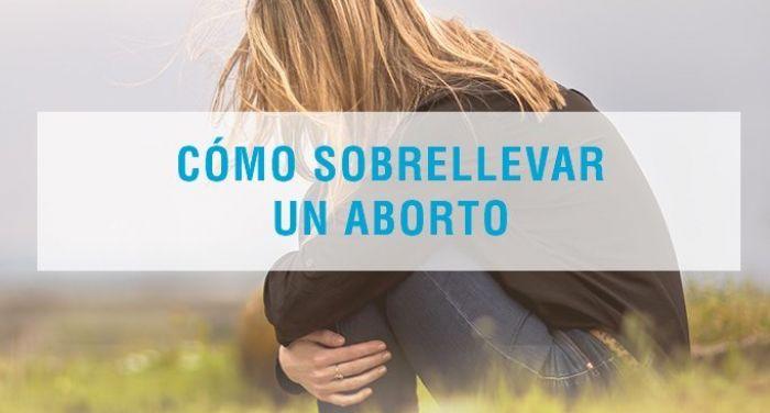 Cómo sobrellevar un aborto